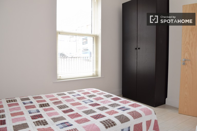 Bedroom 1 with double bed and ensuite