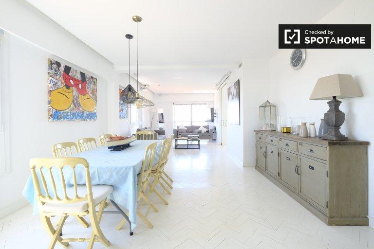 3-Zimmer-Wohnung zur Miete in Ciudad Lineal, Madrid