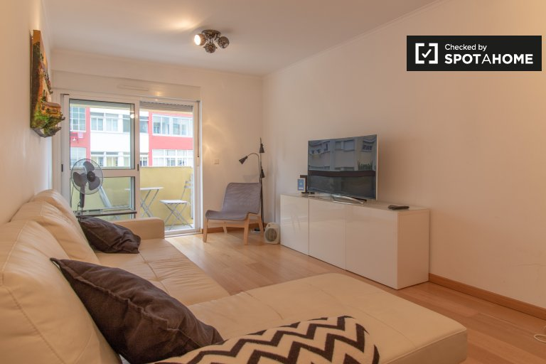 Beato, Lizbon kiralık geniş 1 yatak odalı daire