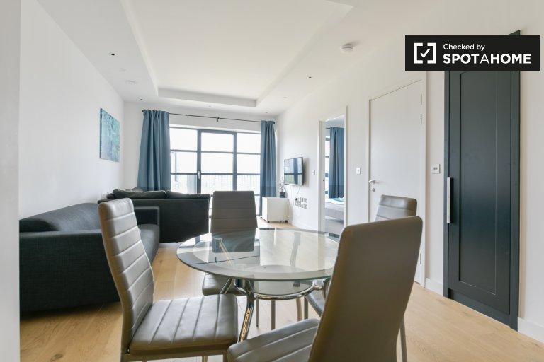 Appartement moderne d'1 chambre à louer, Tower Hamlets, Londres