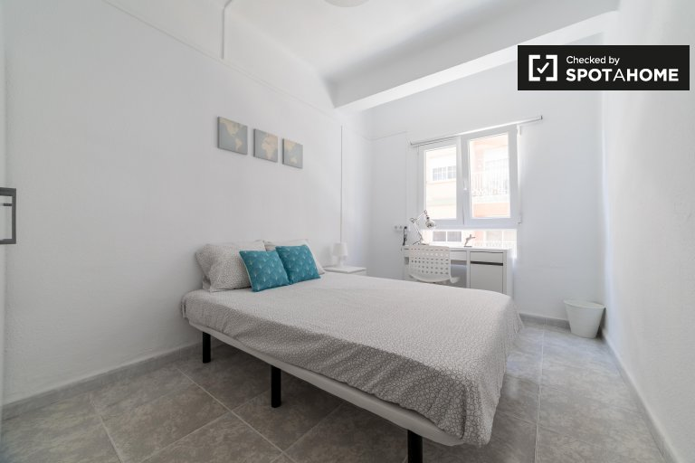 Charming room for rent in Benimaclet, Valencia