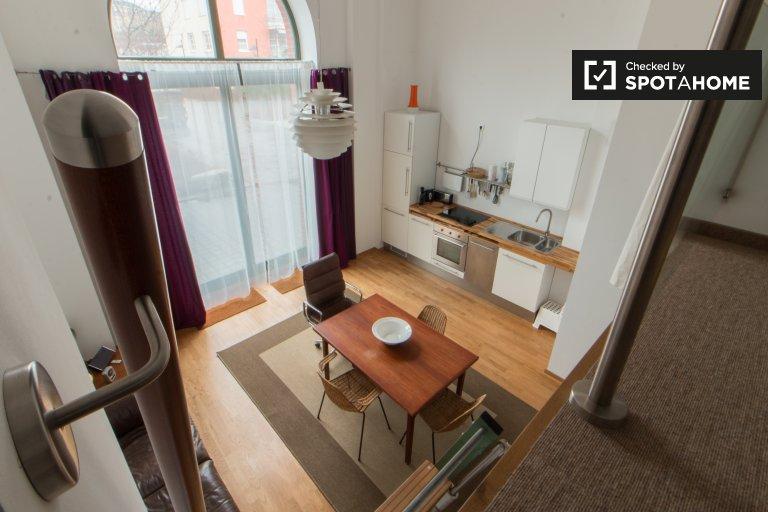 Stylowy apartament typu studio do wynajęcia w Kreuzberg, Berlin