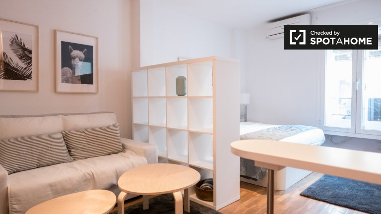 Studio apartment for rent in Chueca, Madrid