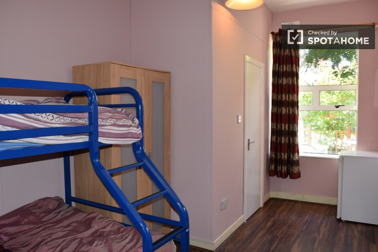 Bedroom 15 with bunk beds in a shared occupancy room