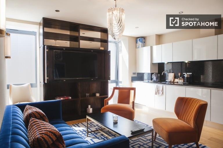 Luksusowe 2-pokojowe mieszkanie do wynajęcia w Tower Hamlets w Londynie
