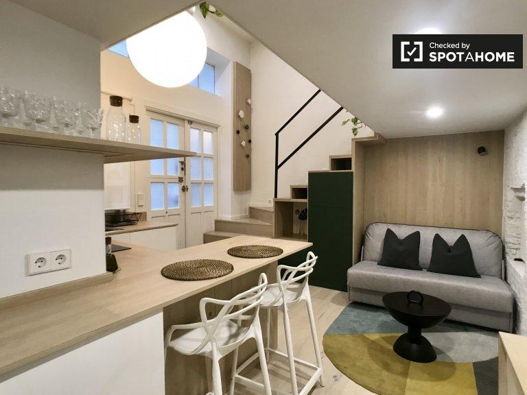 Elegante estudio en alquiler en La Latina, Madrid