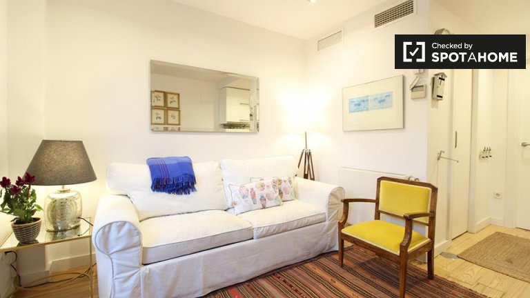 1-bedroom apartment for rent in Salamanca, Madrid