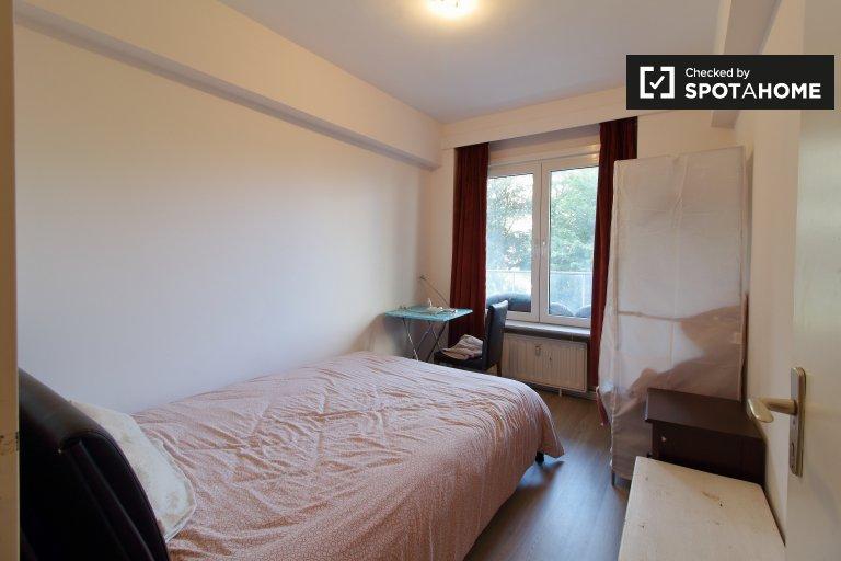 Bella camera in affitto in appartamento con 2 camere da letto, Evere, Bruxelles