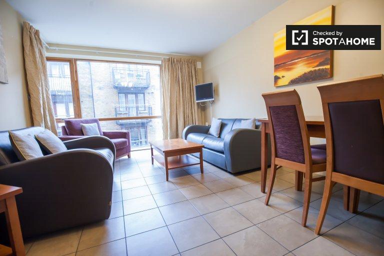 Liberties, Dublin'de kiralık 2 odalı güzel daire