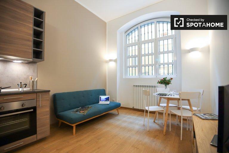 Apartamento de 1 habitación en alquiler en Zona Solari, Milán