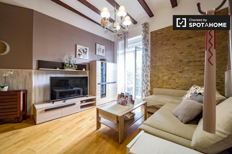 Elegante 2-Zimmer-Wohnung zu vermieten in La Saïdia, Valencia