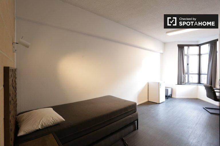 Camera pittoresca in appartamento a Saint Gilles, Bruxelles