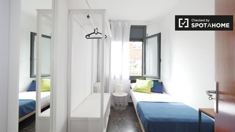 Zimmer in 4-Zimmer-Wohnung in La Dreta de l'Eixample