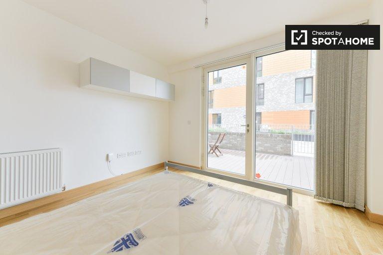 Quarto para alugar em apartamento de 3 quartos em Greenwich, Londres