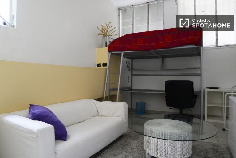 Camera da letto 1 con letto a soppalco
