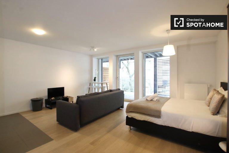 Studio apartment for rent in the European Quarter, Brussels