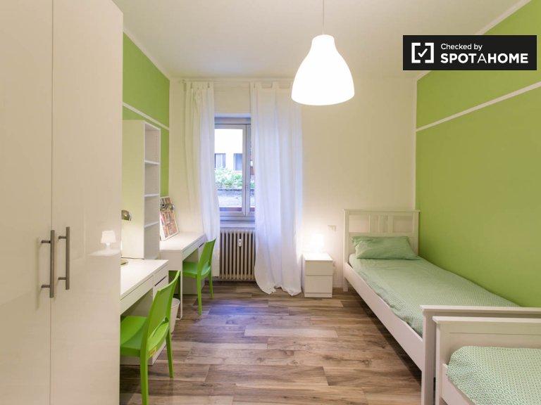 Cama para alugar em apartamento de 2 quartos em Sesto San Giovanni