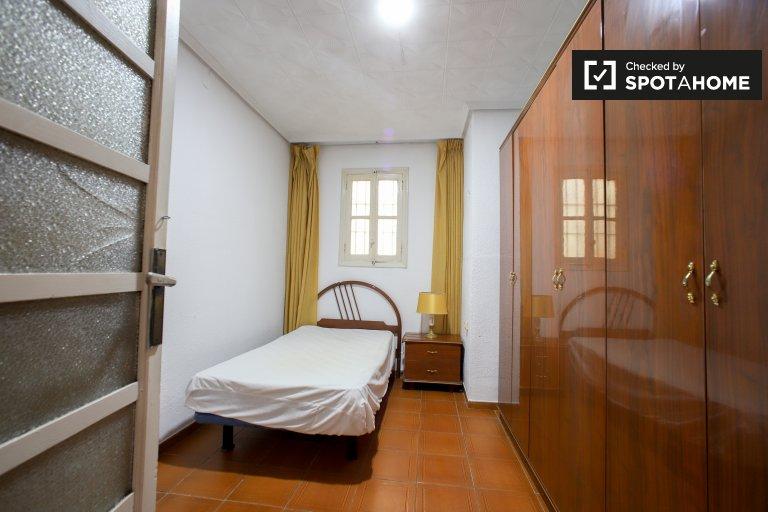 Przytulny pokój do wynajęcia, apartament z 9 sypialniami, Russafa