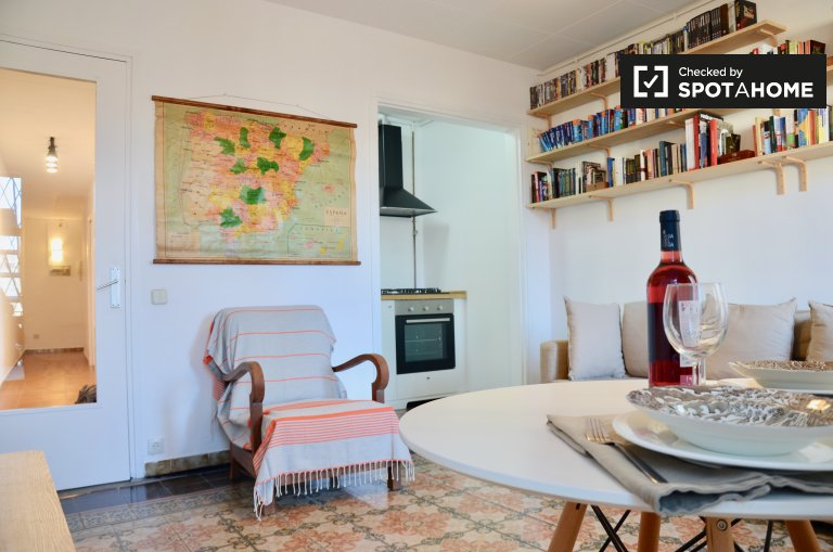 2-bedroom apartment to rent in the ancient Barri Gòtic