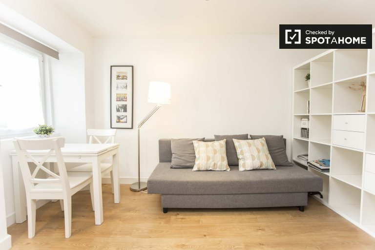 Bright studio apartment to rent in relaxed Arroios