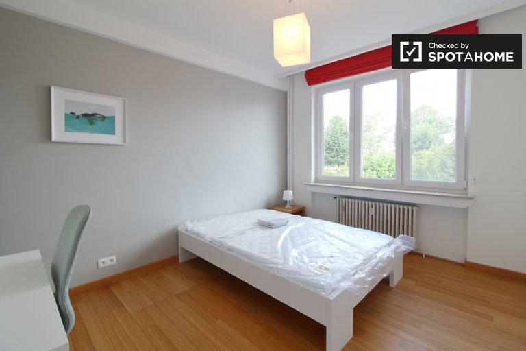Grande chambre à louer dans un appartement à 4 lits, Woluwe-Saint-Pierre