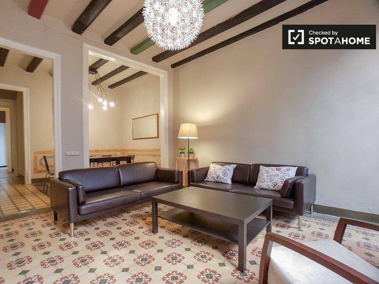 Apartamento de 4 quartos para alugar em Gotico, Barcelona