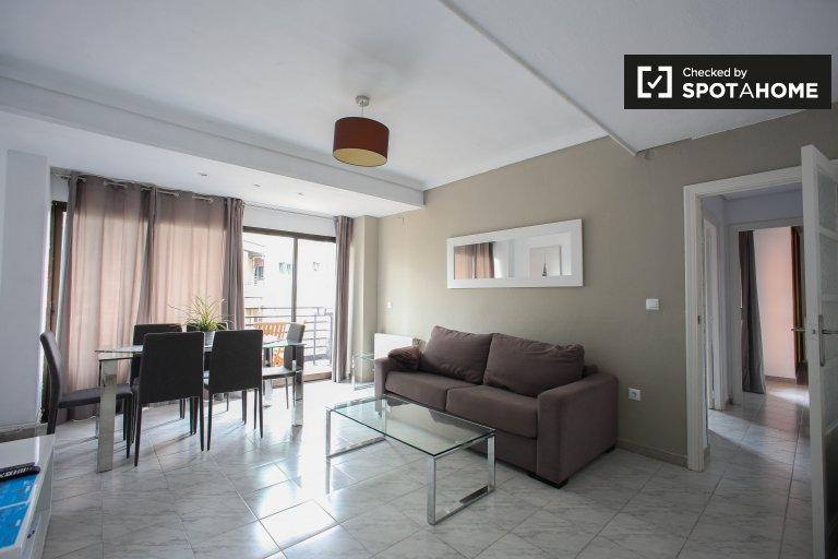 Piękne 3-pokojowe mieszkanie do wynajęcia w L'Eixample w Walencji
