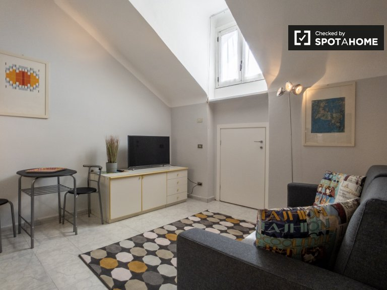 Cute studio apartment for rent in De Angeli, Milan