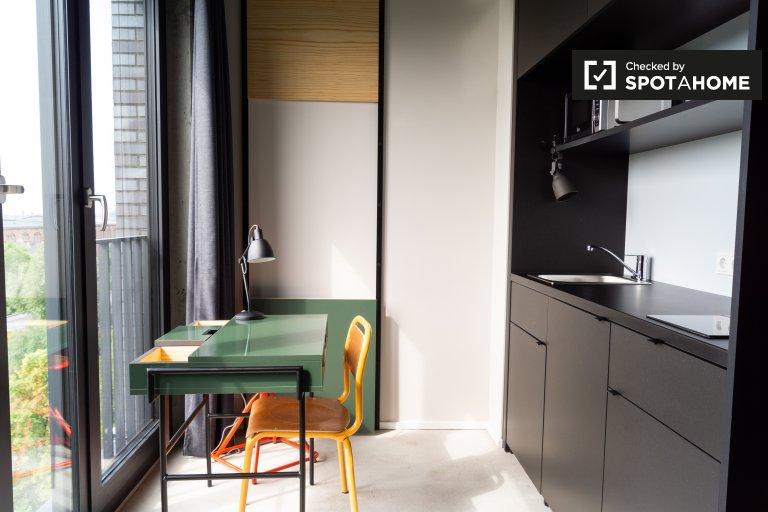 Doskonały apartament typu studio do wynajęcia w Mitte, Berlin