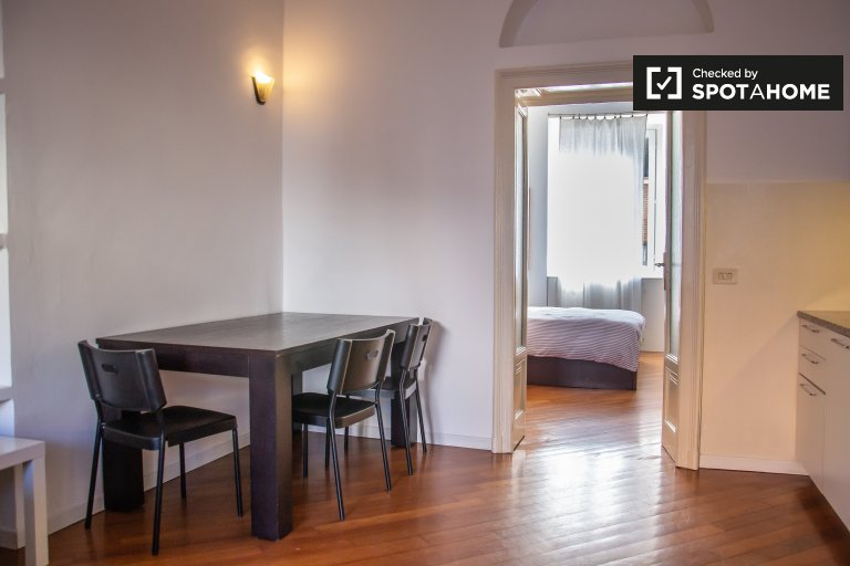 Bright apartment with 1 bedroom for rent, Sarpi, Milan