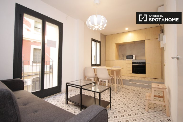 1-Zimmer-Wohnung zur Miete in La Barceloneta, Barcelona
