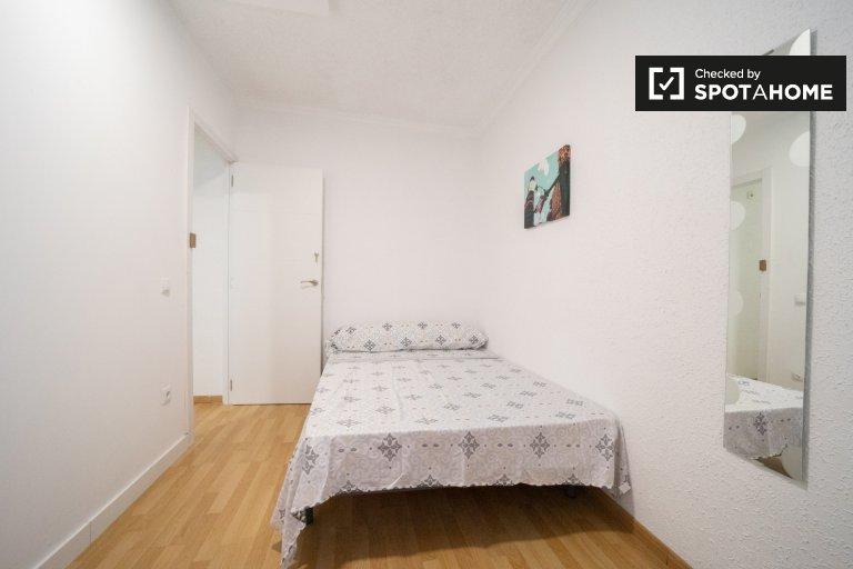 Quarto bonito para alugar, apartamento de 11 quartos, Centro, Madrid