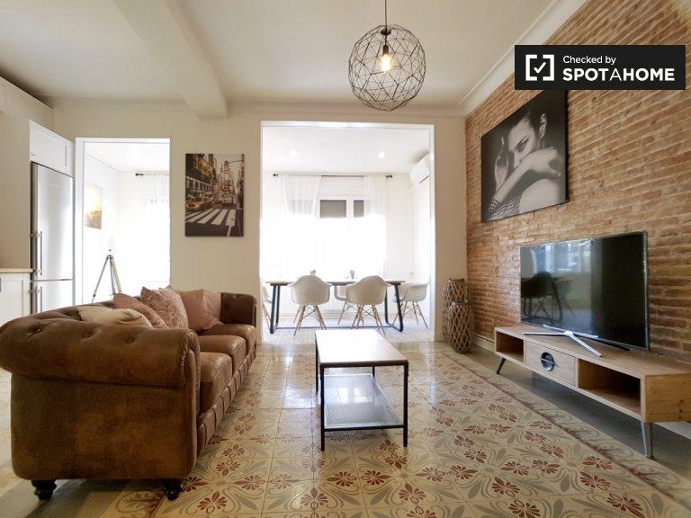 Apartamento de 4 quartos para alugar La Dreta l'Eixample, Barcelona