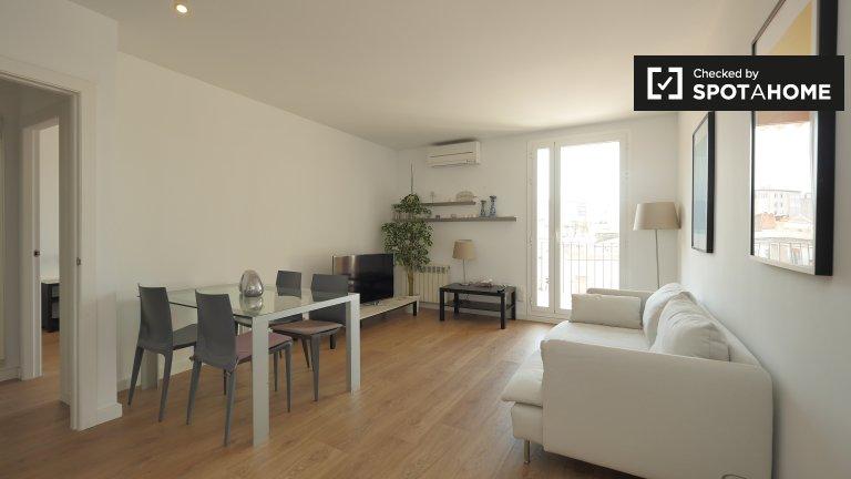Moderno apartamento de 2 dormitorios en alquiler en Gótico, Barcelona.