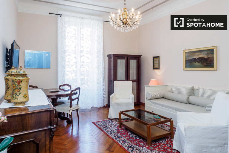 1-bedroom apartment for rent in Ravizza, Milan