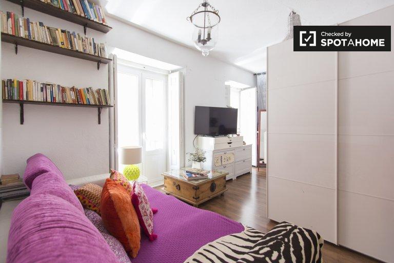 Geräumige 4-Zimmer-Wohnung zur Miete in Centro, Madrid