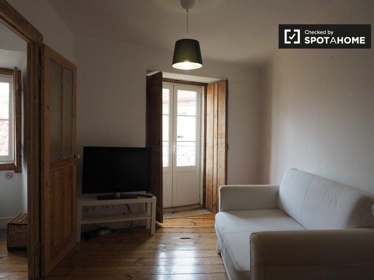 2-Zimmer-Wohnung zur Miete in Alfama, Lissabon