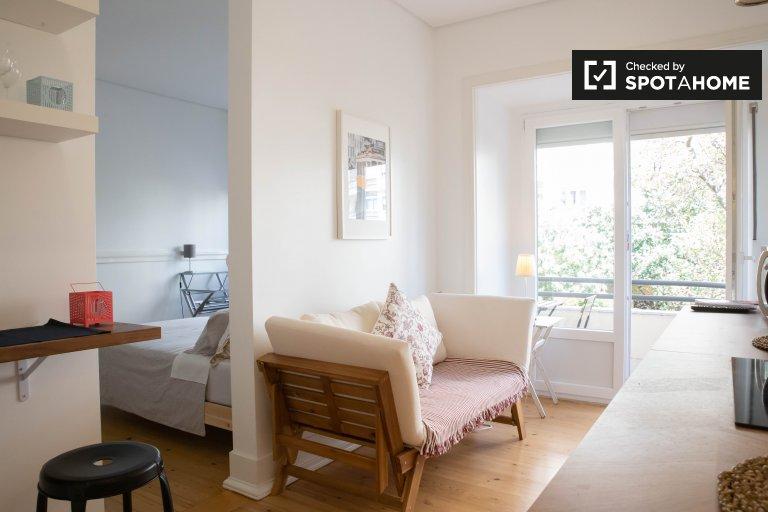 Studio à louer à Avenidas Novas, Lisbonne