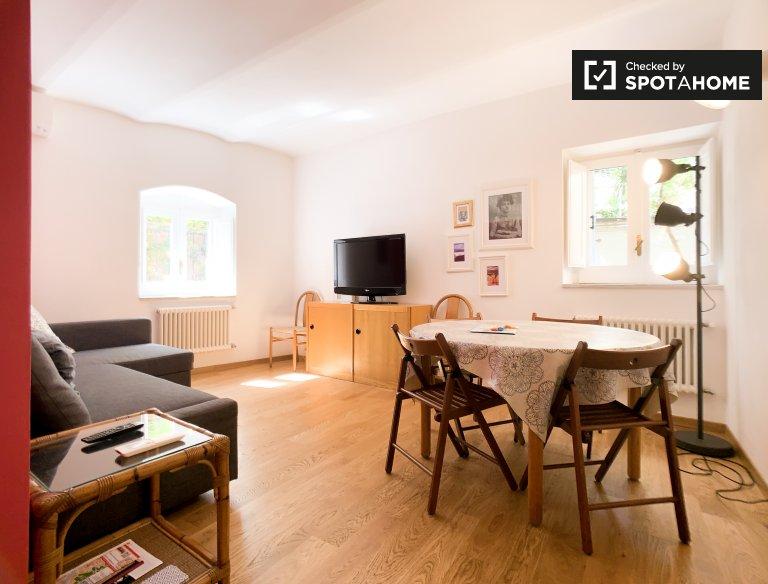 Apartamento de 1 quarto para alugar em Centro Storico, Roma