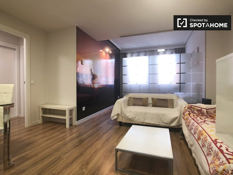 Stylish 1-bedroom apartment for rent in Nueva España, Madrid