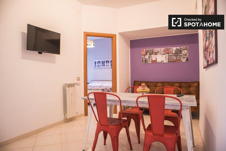 Apartamento de 1 dormitorio en alquiler en Portuense, Roma