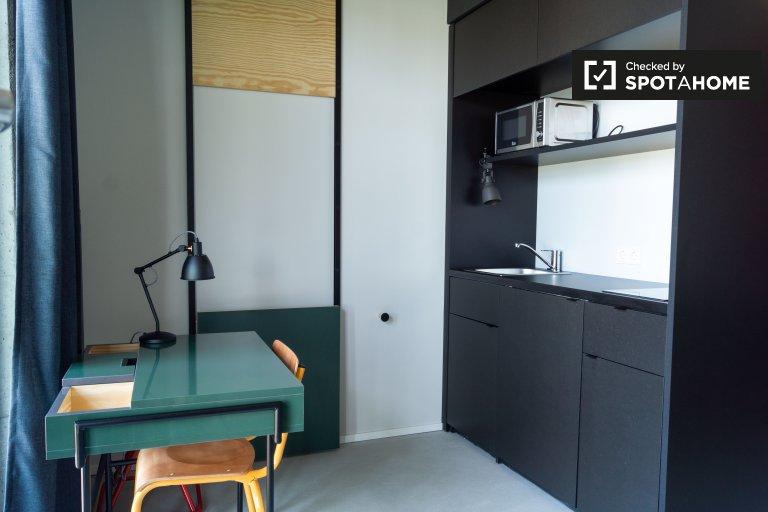 Mitte, Berlin'de kiralık harika stüdyo daire