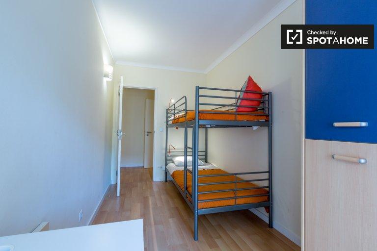 Quarto duplo para alugar, apartamento de 2 quartos, Parede, Lisboa