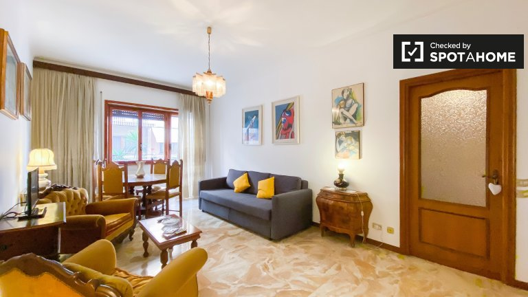 1-bedroom apartment for rent in Monte Sacro, Rome