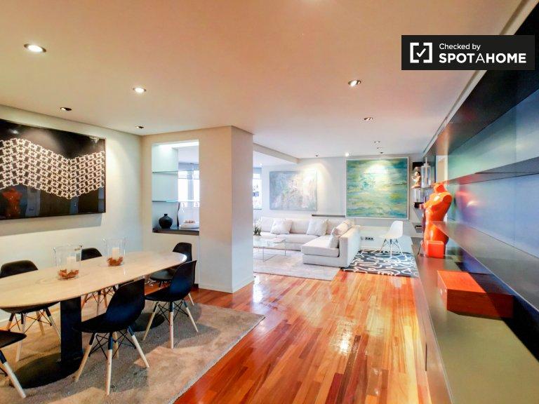 Elegante 3-Zimmer-Wohnung zur Miete in Salamanca, Madrid