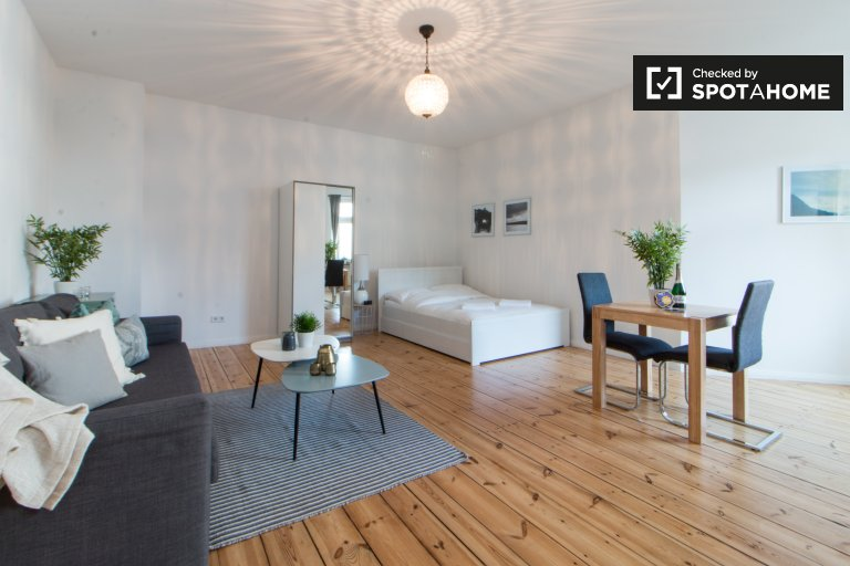 Renovated studio apartment for rent in Wedding, Berlin