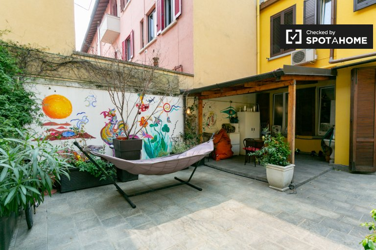 1-bedroom apartment for rent in Navigli, Milan