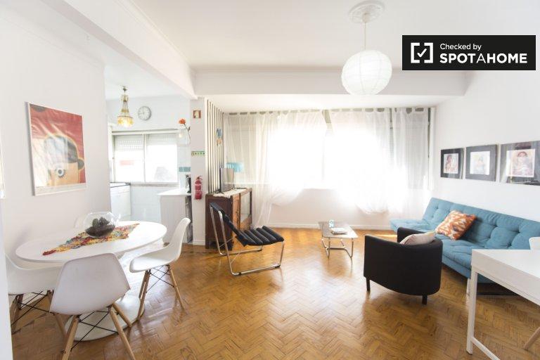 1-pokojowe mieszkanie do wynajęcia w Penha de França, Lizbona