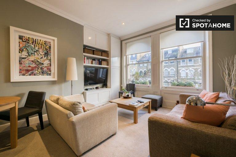 Urocze 2-pokojowe mieszkanie do wynajęcia w Camden w Londynie