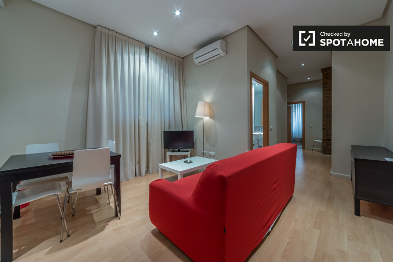 Modern 2-bedroom apartment for rent in Valencia histroical center